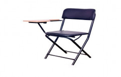 Plastic School And College Folding Writing Pad Chair
