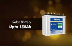 Plaza/Luminous Tubular Solar Batteries, Battery Type: 7.5ah To 200ah, 12volt