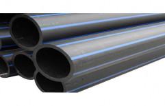 PN 6 PE 100 HDPE Pipe, Size/Diameter: 110 mm