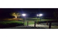 Pole Mounted Solar Garden Led light, For Lighting