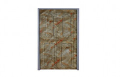 Powder Coated Modular Aluminium Door, Single, Thickness: 20-25 Mm