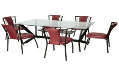 Precise Six Chair Dining Table Set