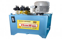 Radhe 2hp Onwards Hydraulic Power Pack, Three Phase, Model Name/Number: Depend On Design