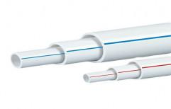 Raj Schedule 40 UPVC Plumbing Pipes, Length of Pipe: 3 m