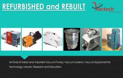 Refurbished Vacuum Pump