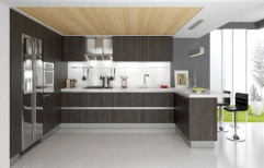 Residential Acrylic Modular Kitchen, Warranty: 1-5 Years
