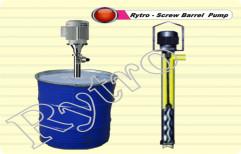 Rytro 10 Meter Screw Barrel Pump, 1 Hp, 440 V