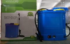 Samruddhi Blue Agricultural Power Sprayer, Capacity: 16 liters