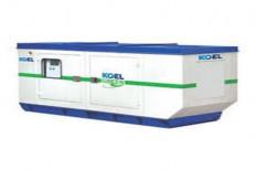 Silent or Soundproof KOEL Green KOEL Silent Diesel Generator