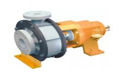 Single Phase Polypropylene Centrifugal Pump, Maximum Flow Rate: 2900 RPM
