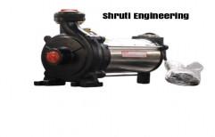 Single-stage Pump 1 - 3 HP Open Well Motor