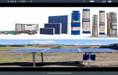 Solar Dc Submersible Pump Set 1 Hp