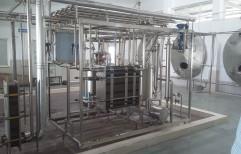 Ss 304 MILK PLANT, Custom Design