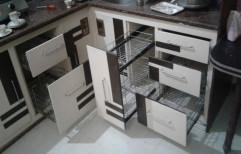 Stainless Steel Residential Steel Modular Kitchen