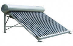 Stainless Steel Tank Domestic Solar Water Heater, Capacity: 100 LPD