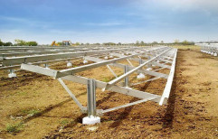 Steel Modular Mounting Solar Structure, Thickness: 1.6mm To 4.0mm