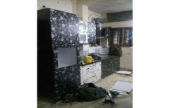 Straight Modern Cabinets Modular Kitchen