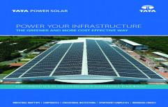 Tata Solar PV System, Maximum Power Voltage: 17.70 V