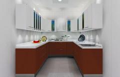 U Shape Modular Kitchen, Pune, Warranty: 1 Year