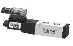 Uflow Stainless Steel Single Solenoid Valve, Packaging Type: Box
