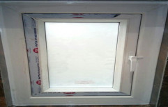 UPVC Casement Window, Glass Thickness: 3mm
