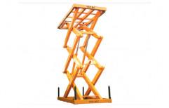 Vanjax Hydraulic Scissor Lift, Capacity: 3000 Kg