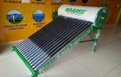 WAAREE terrace mount solar water heater, Capacity: 300 lires, Model Name/Number: Etc