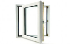 White Modern UPVC Side Hung Window, Size/Dimension: 3 X 2.5 Feet, Glass Thickness: 8 Mm