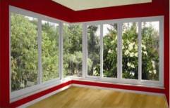 White Modern UPVC Window, Size/Dimension: 3 Feet To 15 Feet