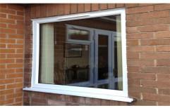 White Residential UPVC Fixed Window