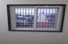 White Residential Upvc Sliding Windows