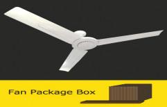 White Solar DC Fan, 18w