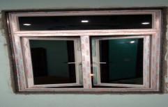 White UPVC Kitchen Window, Length: 5 feet