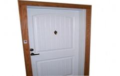 White WPC Door