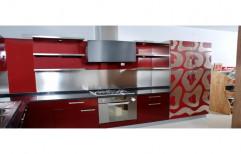 Wooden Modular Kitchen Cabinets