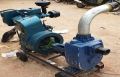 112mm Diesel Mud Pump Set, Motor: 12hp, Model Name/Number: Aircool Engine