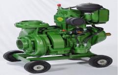 18 Metres 5 Kirloskar Make Diesel Run Supermono Pumpset, Max Flow Rate: 100 Lpm