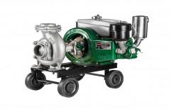 2 - 5 HP Single Phase Diesel Engine Pumpset 5HP Usha