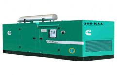 500 kVA Cummins Silent Generator, 220-400 V