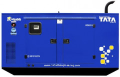 62.5kVA TATA Silent Diesel Generator, For Industrial, 90 Bhp (engine), For Power