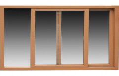 Advance Green Brown UPVC Sliding Windows