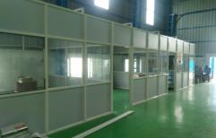 Aluminium, Glass Meeting Room Partition