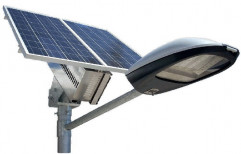 Aluminum Road Solar LED Street Light, For Outdoor, 12.8 Volts