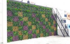 Artificial Outdoor Vertical Garden