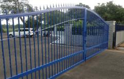 Black Mild Steel Gate, For Office