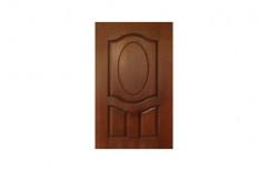 Brown Hinged Moulded Panel Door