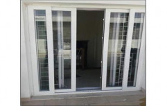 Brown Standard UPVC French Door