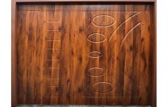 Brown WPC Door, Size/Dimension: 7*4 Feet