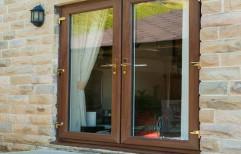 Casement Standard UPVC French Door, 5mm-12mm, Balcony