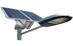 Chrome Commercial Solar Street Light
